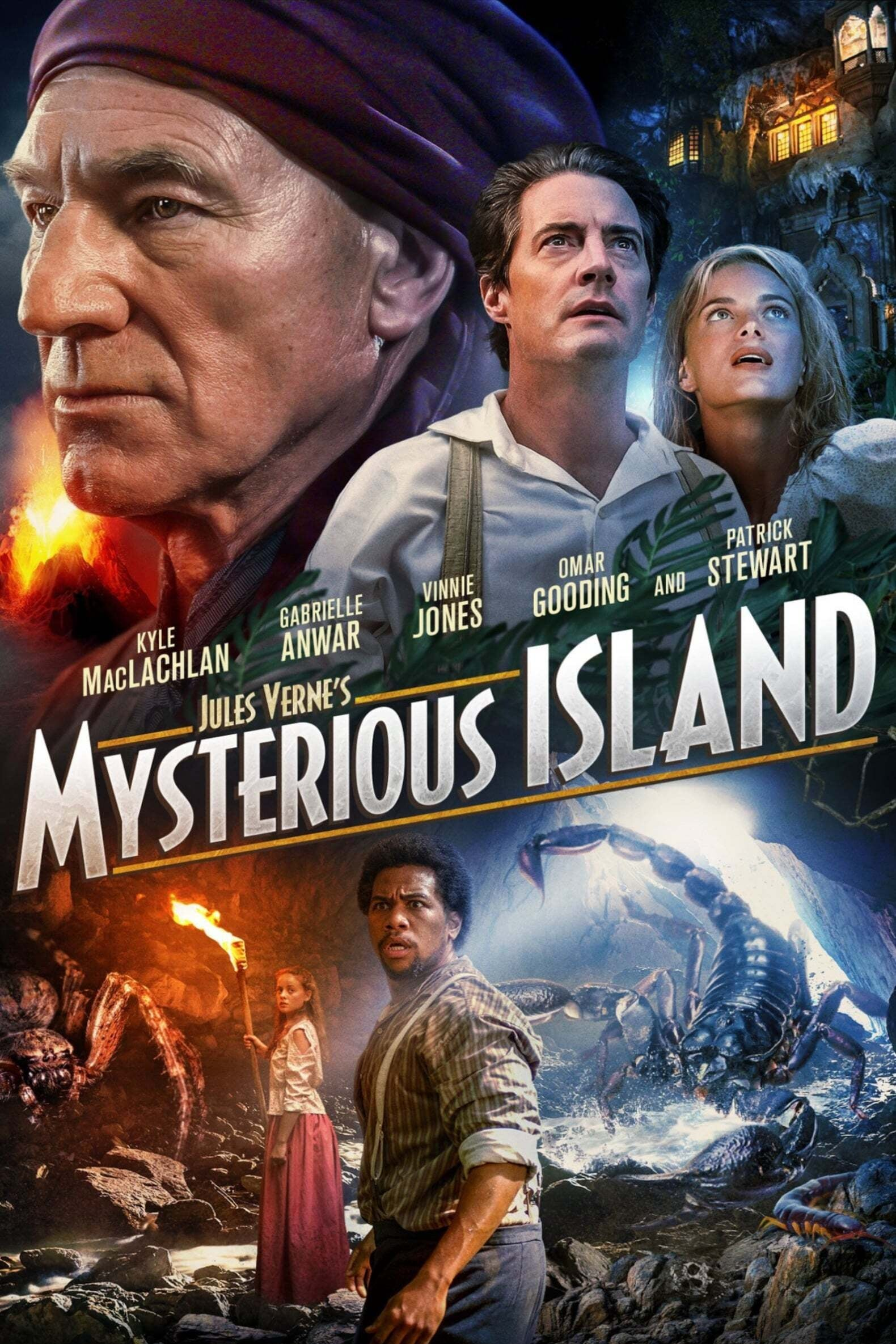 A Ilha Misteriosa Dublado