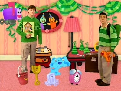 Blues Clues Steve Goes To College 3 2002 Backdrops Stills