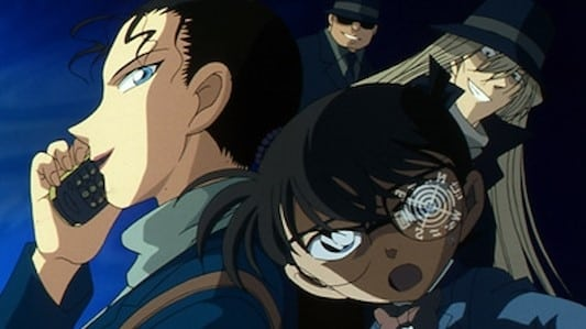 Case Closed Season 1 :Episode 425  Black Impact! The Moment the Black Organization Reaches Out!