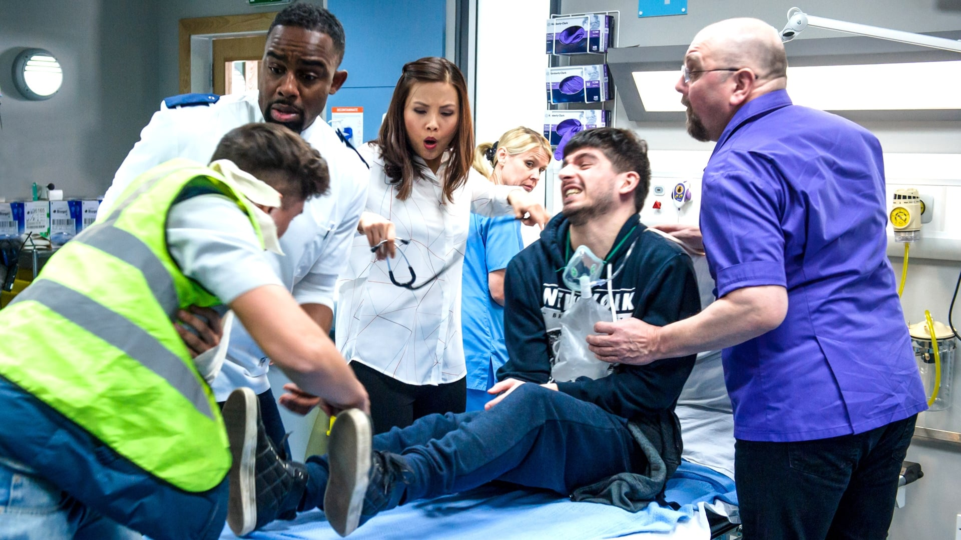 Casualty Season 30 :Episode 33  Tangled Webs We Weave