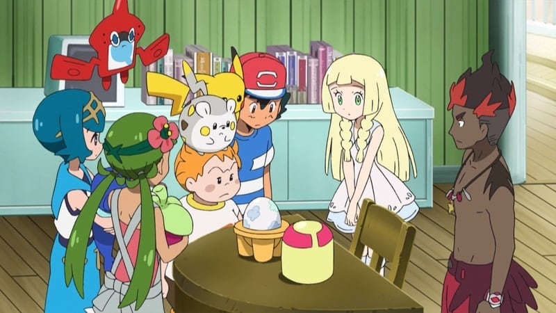 Pokémon Season 20 :Episode 8  Lillie's Egg-xhilarating Challenge!