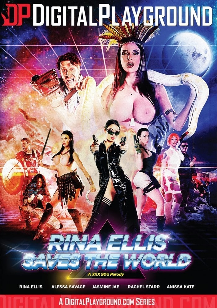 Ver Rina Ellis Saves the World: A XXX 90's Parody Online HD Español ()