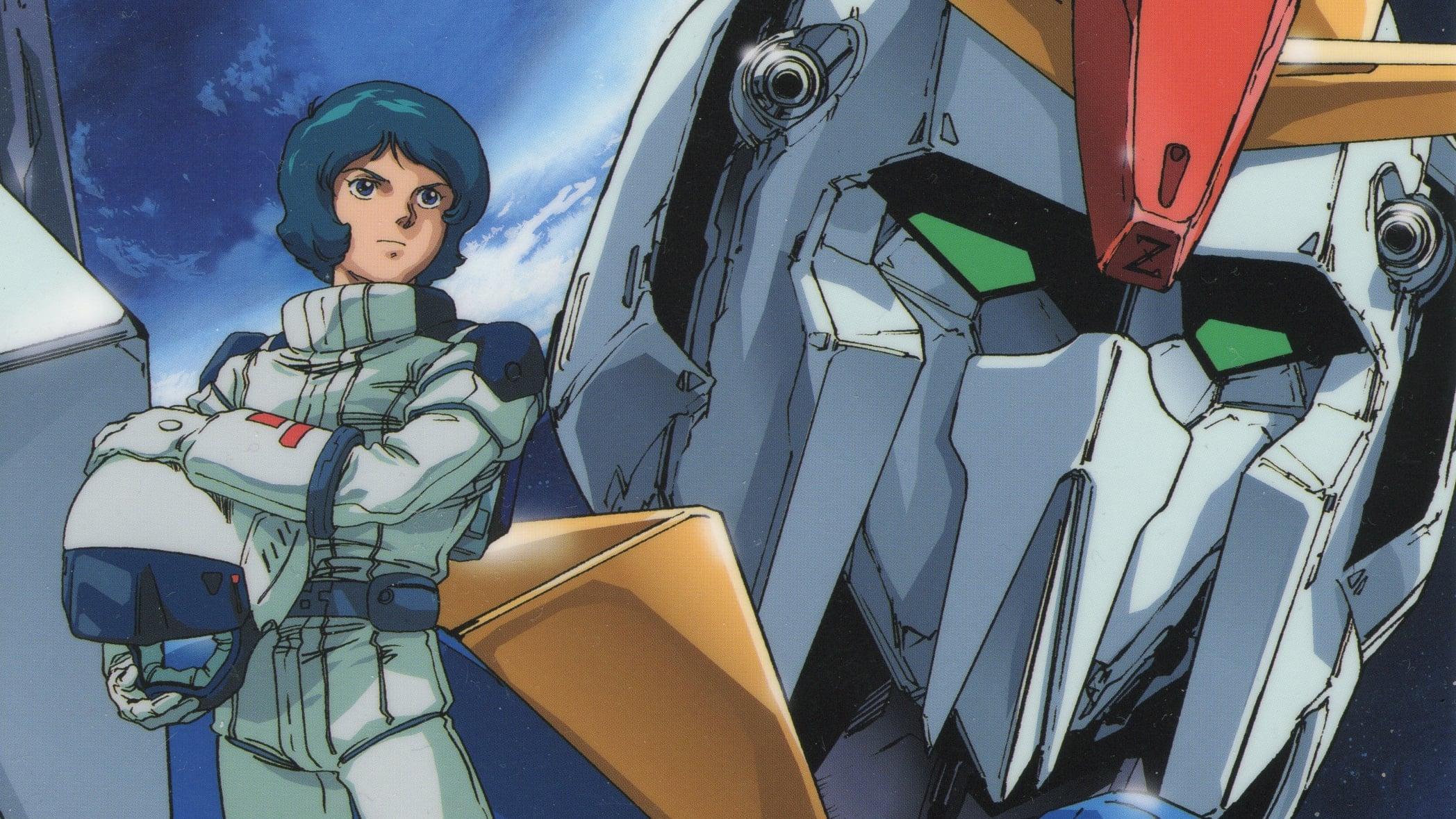 Portada de Mobile Suit Zeta Gundam