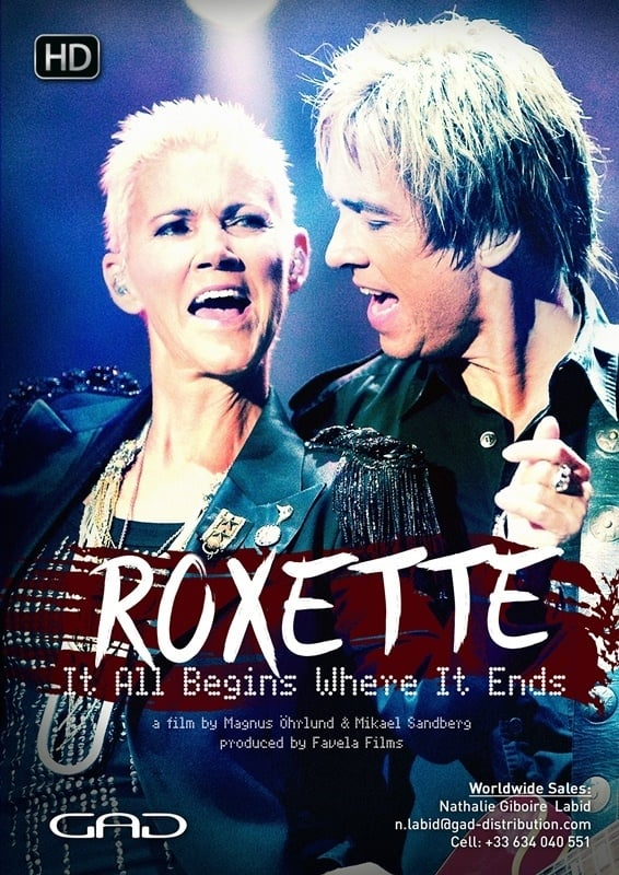 Ver Roxette: It All Begins Where It Ends Online HD Español (2013)