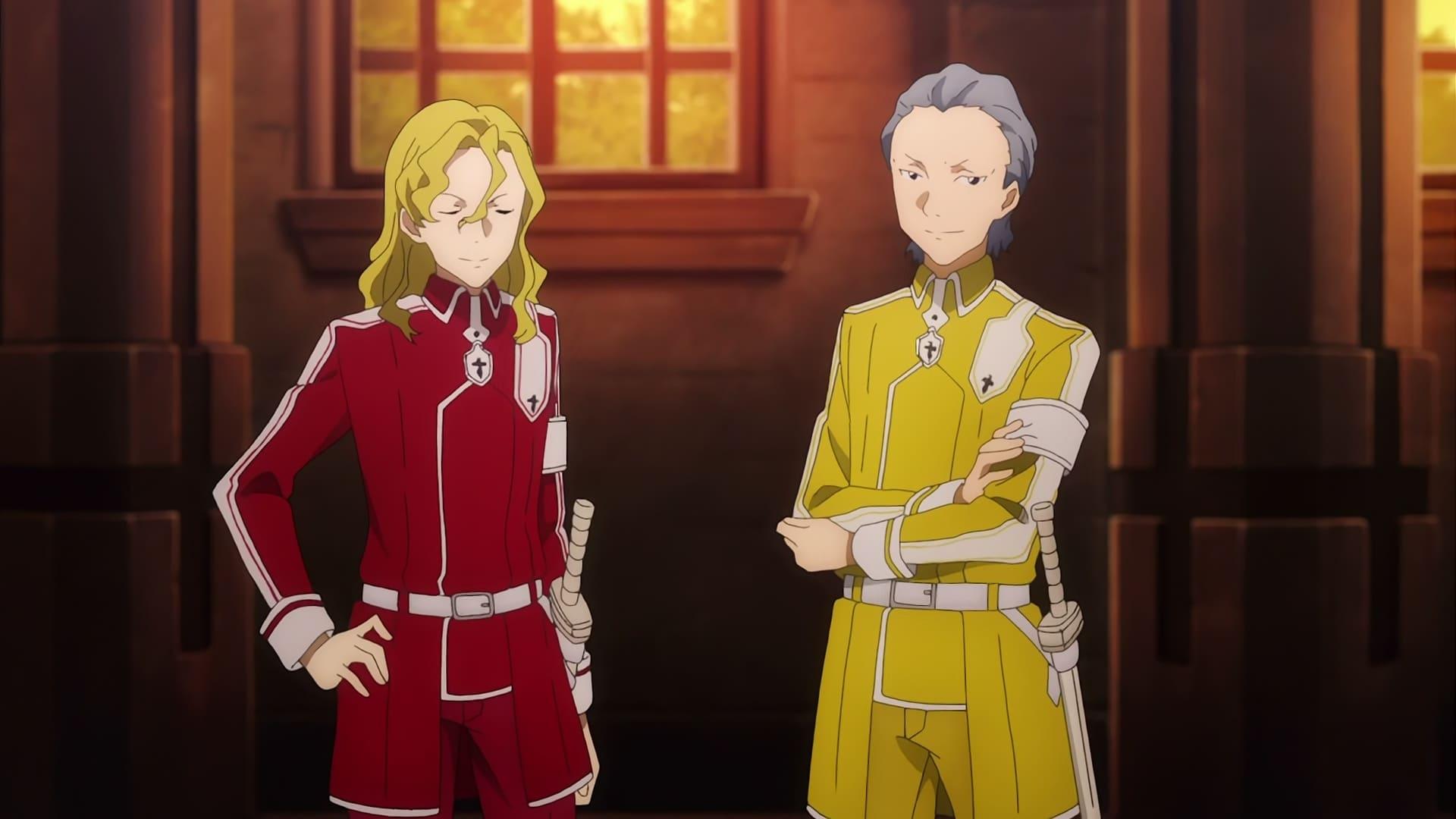 Sword Art Online Season 3 :Episode 9  Nobleman's Responsibilities