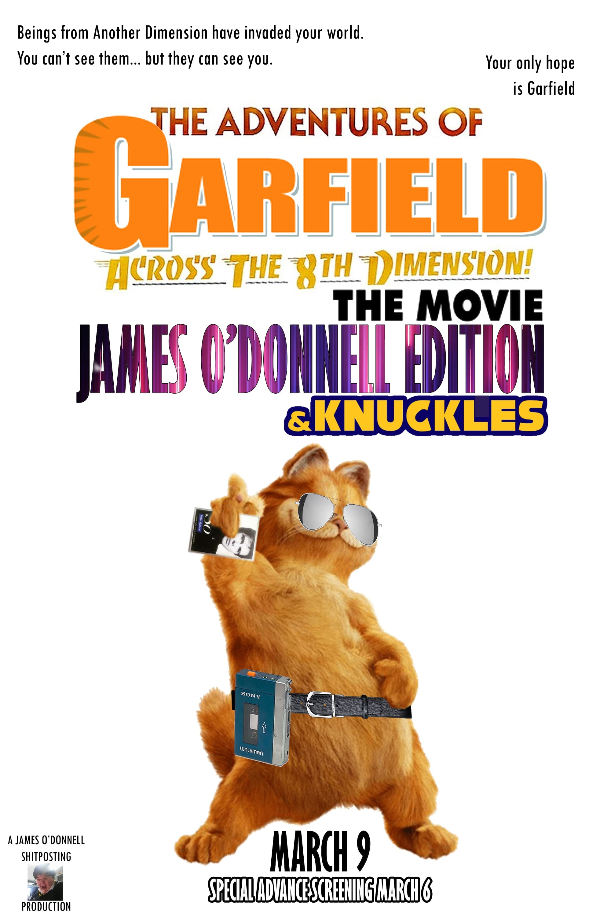 Ver Garfield: the Movie – James O'Donnell Edition Online HD Español ()