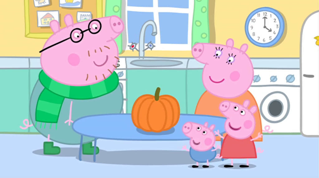 Peppa Pig Season 0 :Episode 7  Pumpkin Party