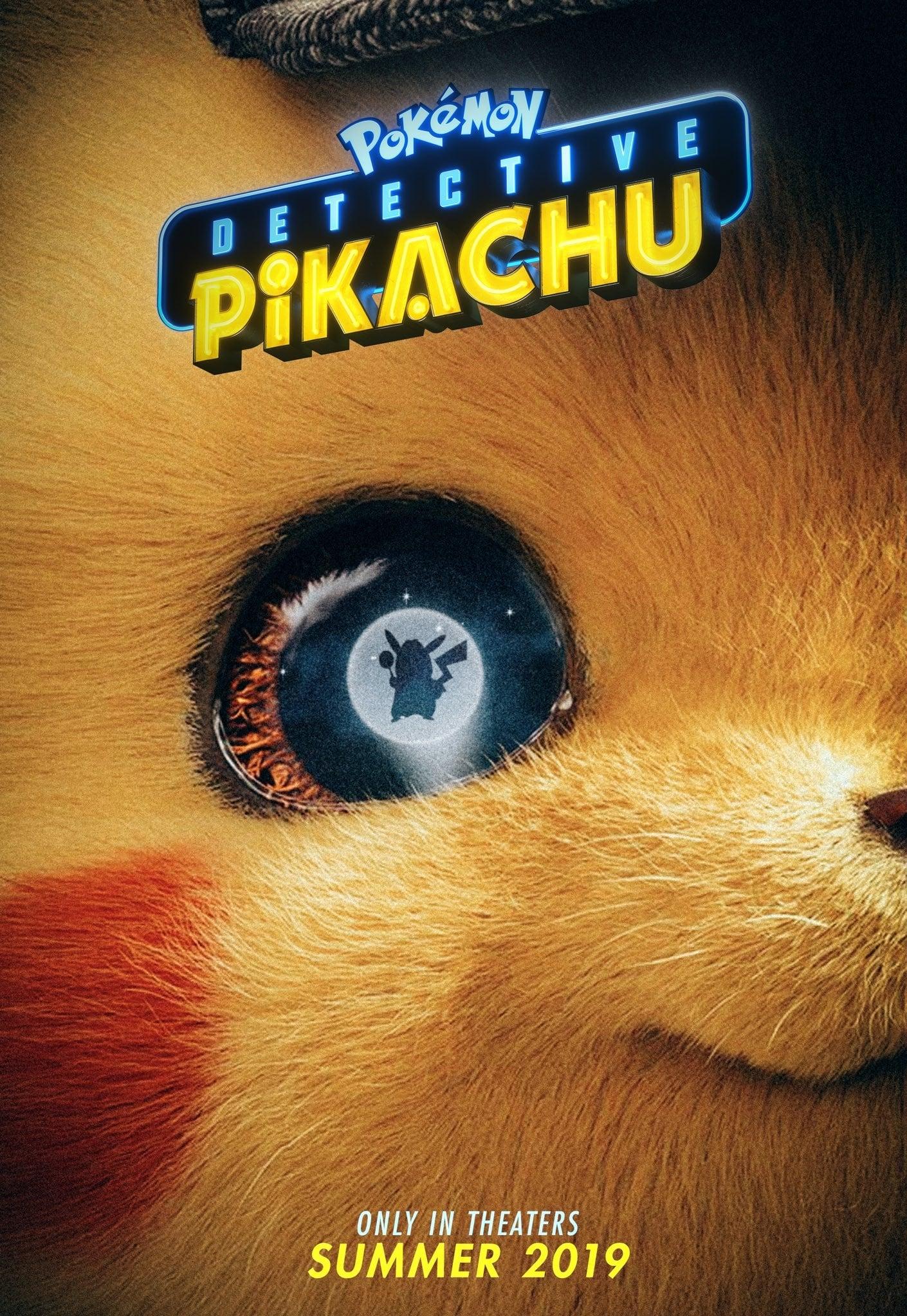 Pokémon: Detetive Pikachu poster, capa, cartaz