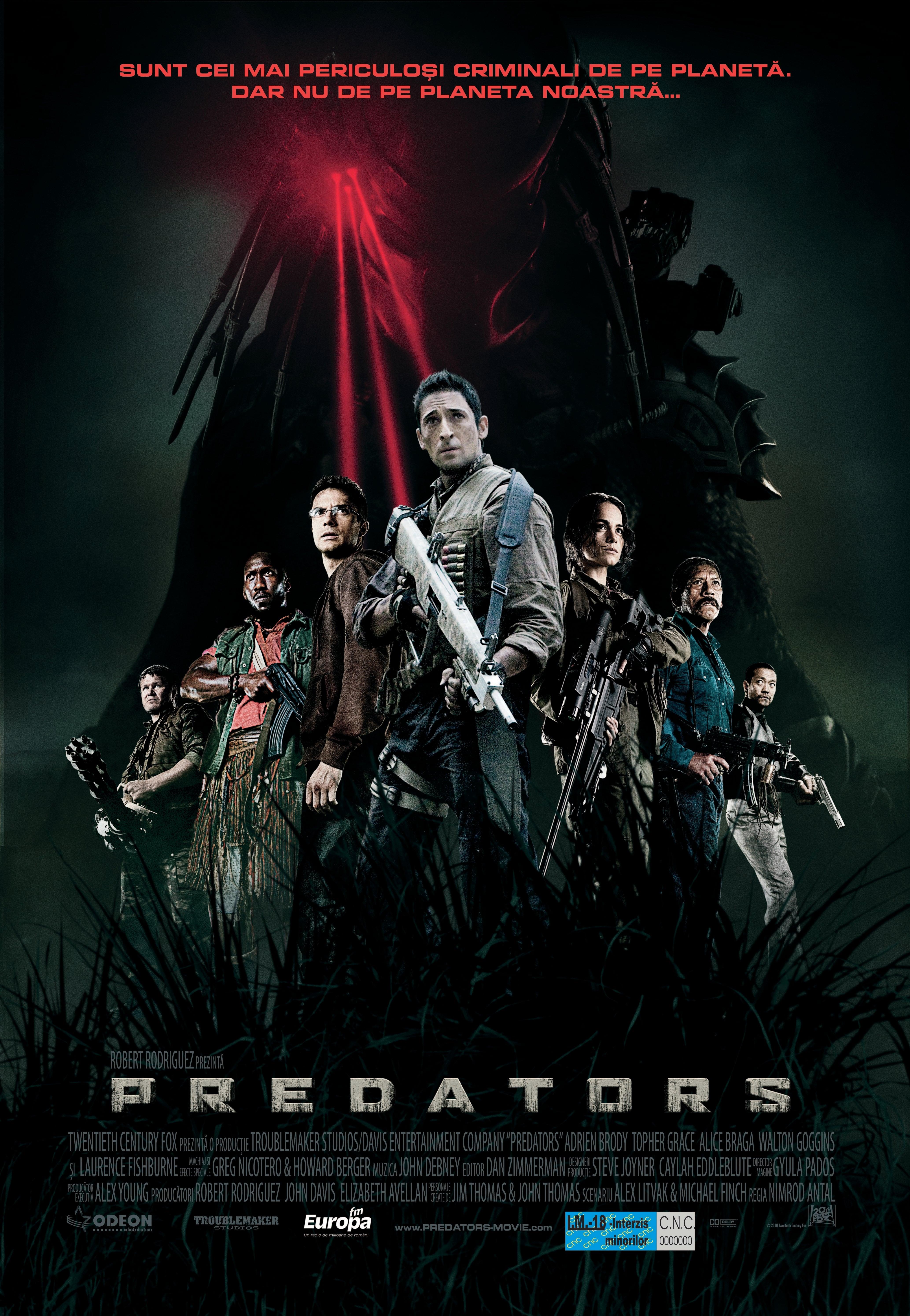 Predators (2010) - Posters — The Movie Database (TMDb)