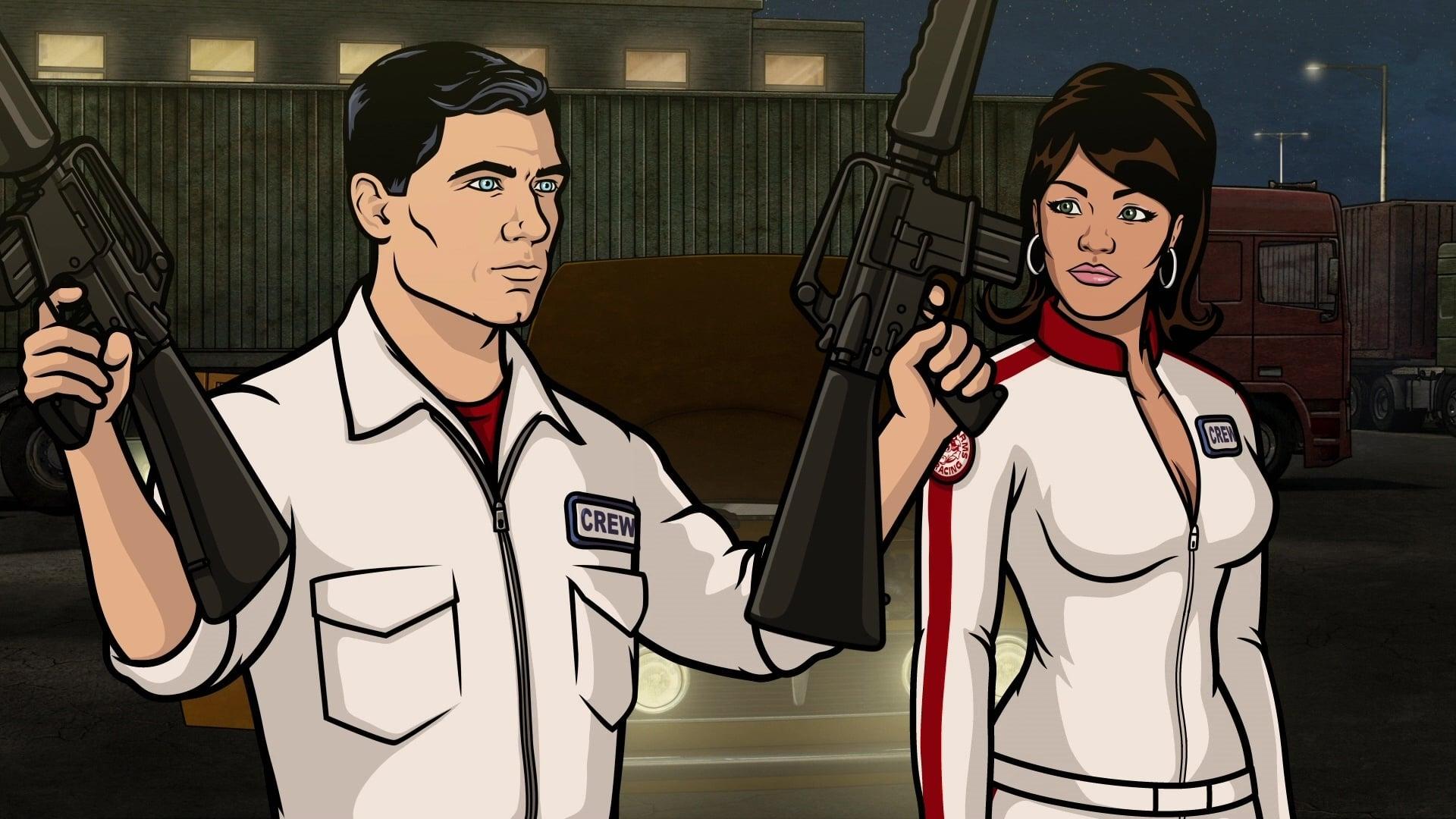 Archer Season 3 :Episode 4  Drift Problem