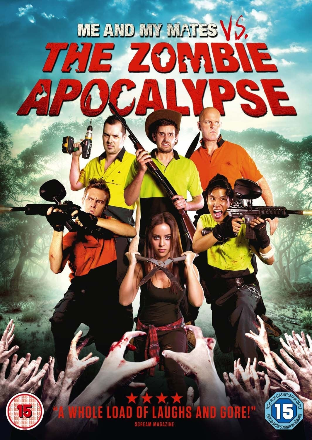 Me and My Mates vs. The Zombie Apocalypse on FREECABLE TV