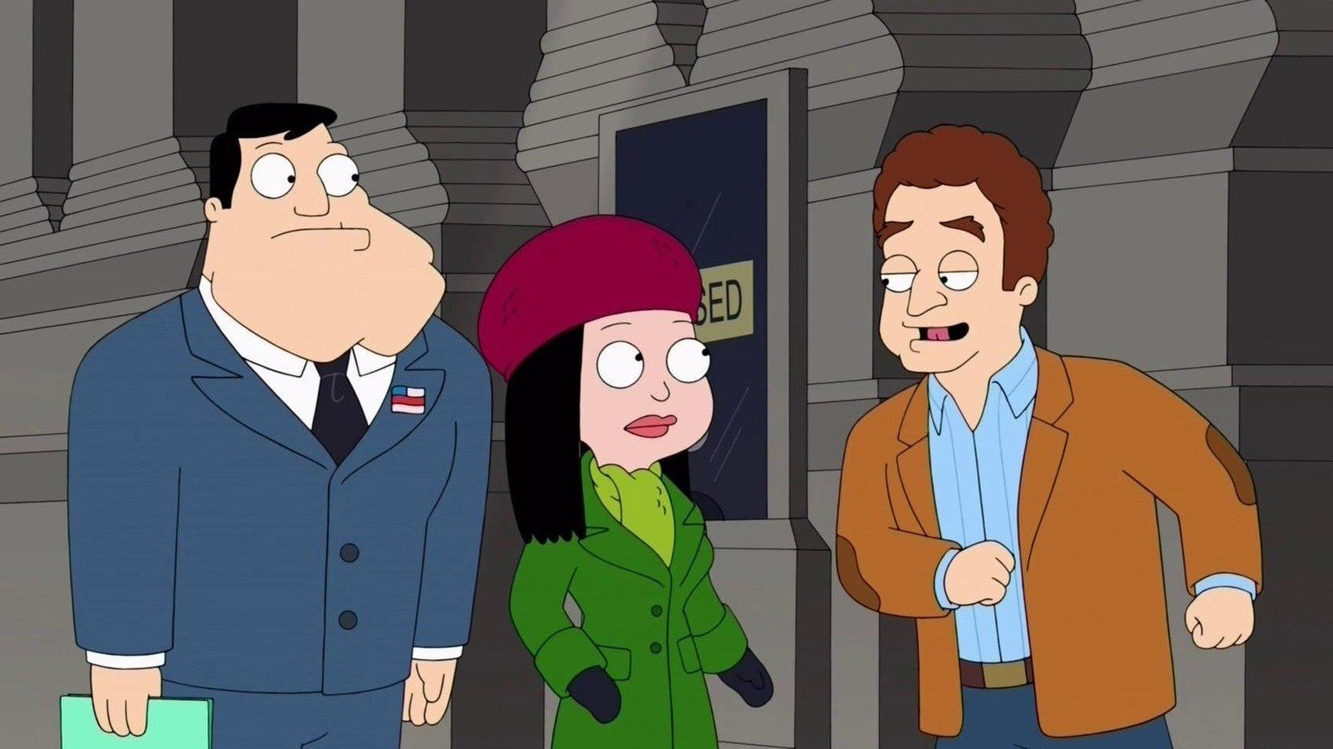 American Dad Season 12 :Episode 11  Die Reise nach New York