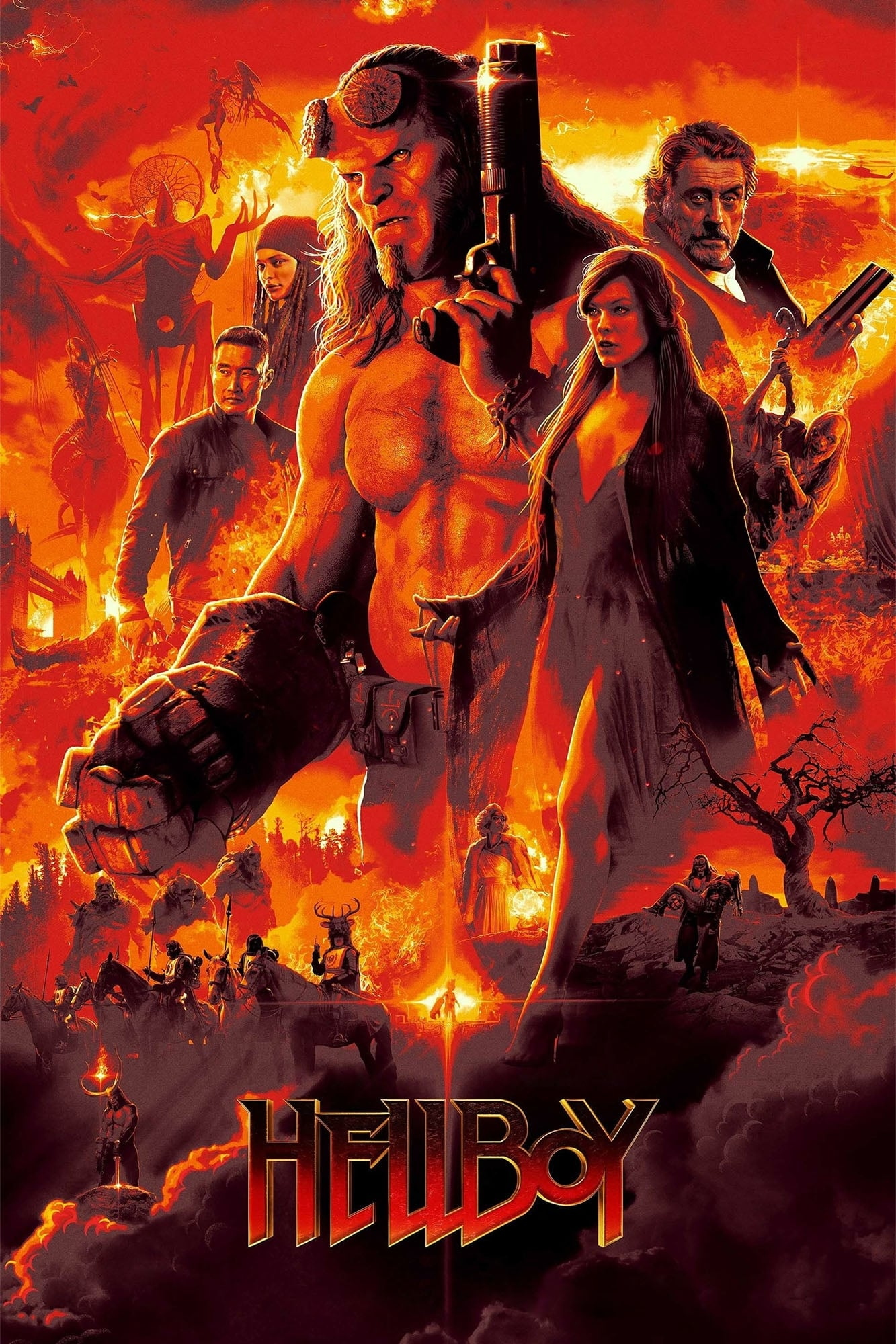 Hellboy (2019) HD 1080P LATINO/INGLES