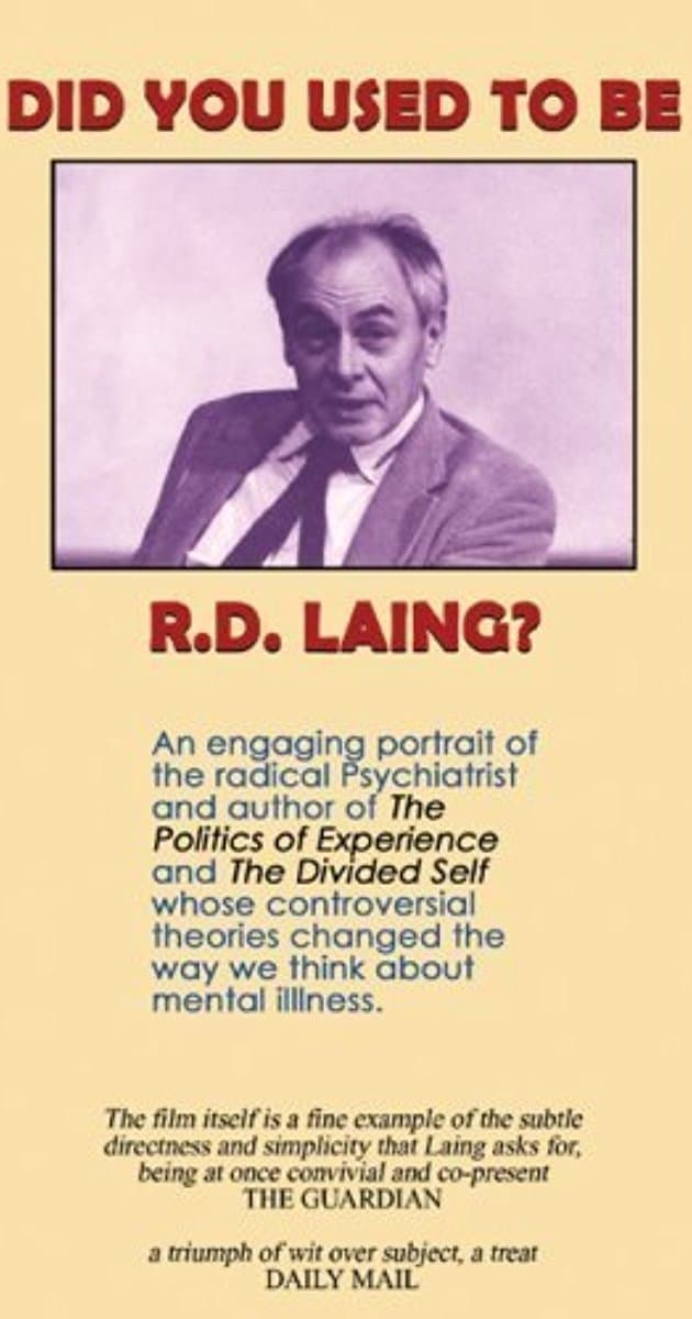 Ver Did You Used to Be R.D. Laing? Online HD Español ()