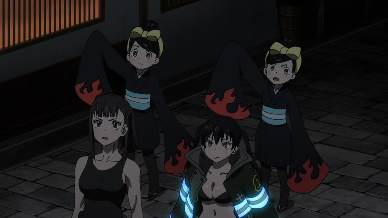 Fire Force Season 1 :Episode 14  For Whom the Flames Burn