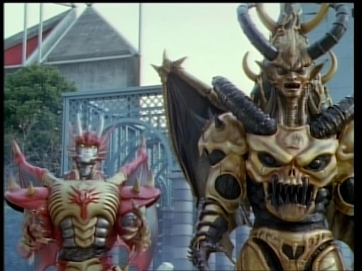 Super Sentai Season 23 :Episode 49  Awakening! The Two Destructive Gods