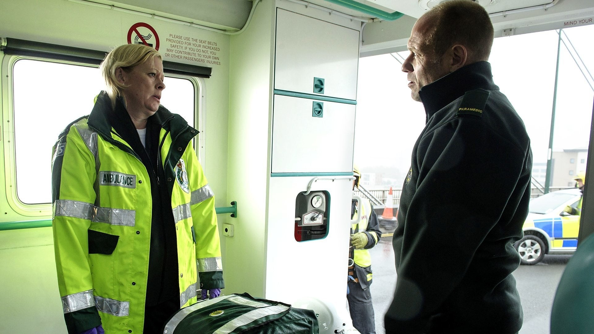 Casualty Season 28 :Episode 21  Brothers At Arms