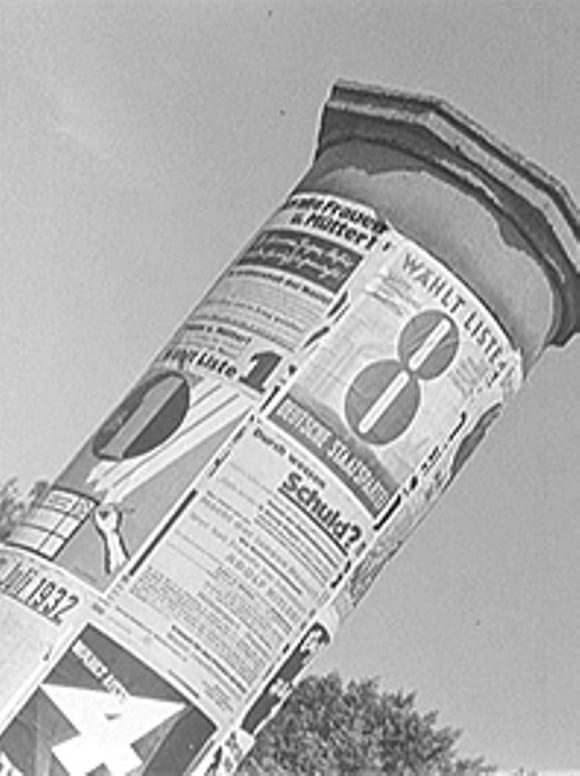 Election campaign 1932 (Last election) (1933)