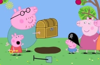 Peppa Pig Season 1 :Episode 24  Treasure Hunt