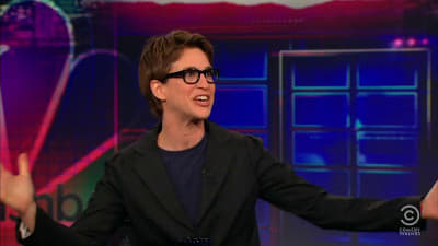 The Daily Show with Trevor Noah Season 16 :Episode 58  Rachel Maddow