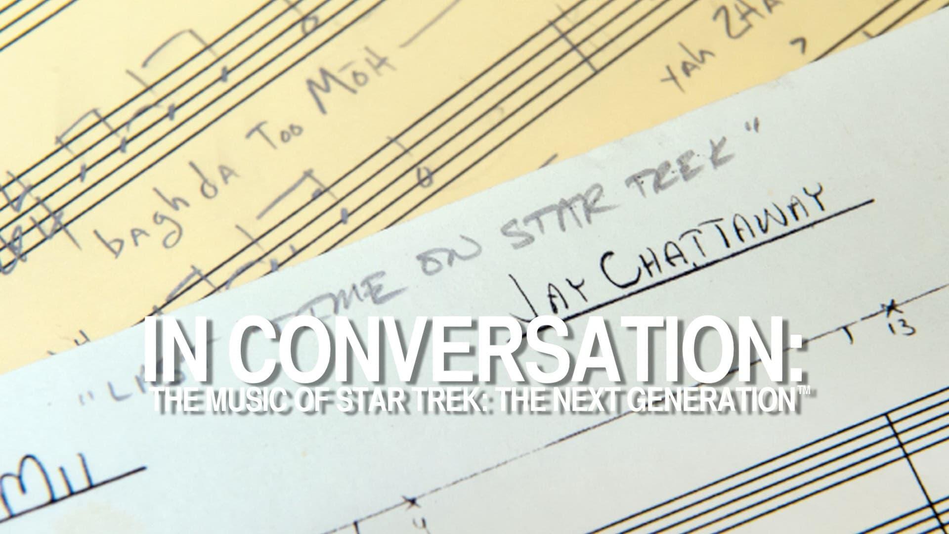 In Conversation: The Music of Star Trek: The Next Generation-Azwaad Movie Database