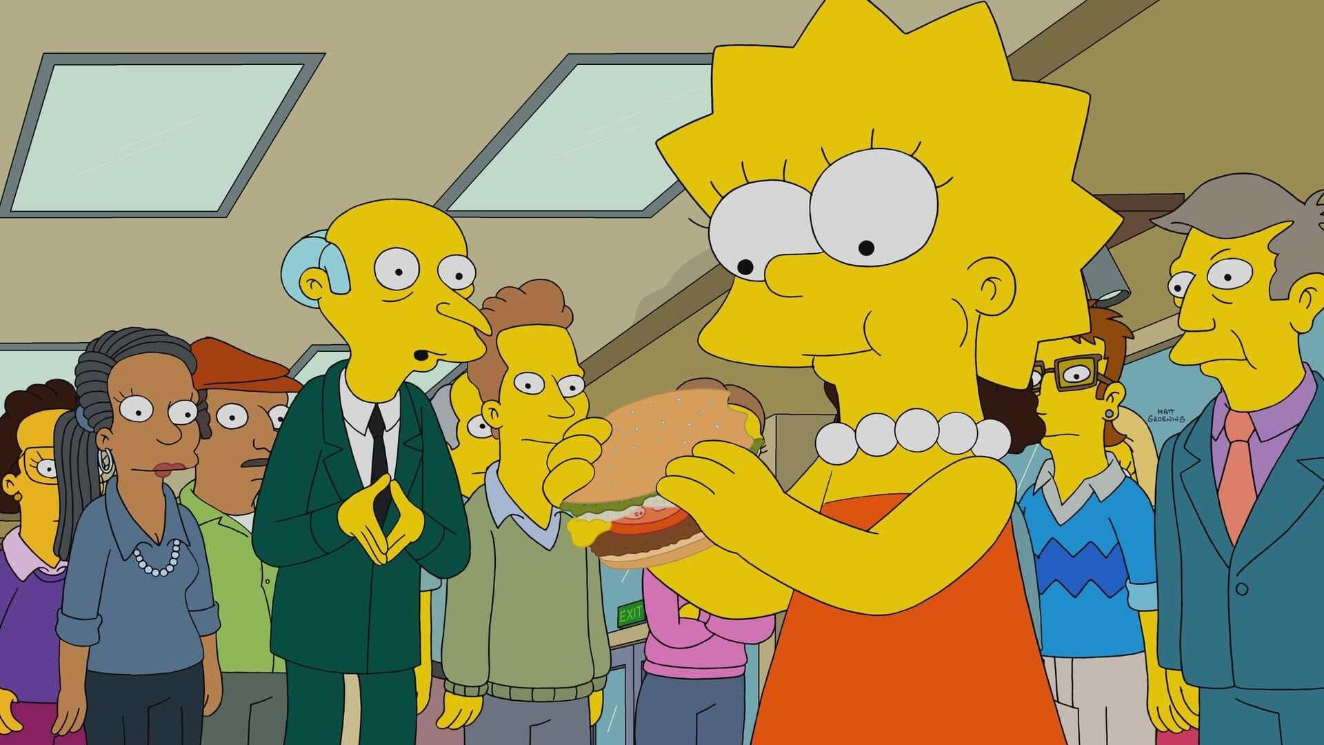 The Simpsons Season 32 :Episode 18  Burger Kings