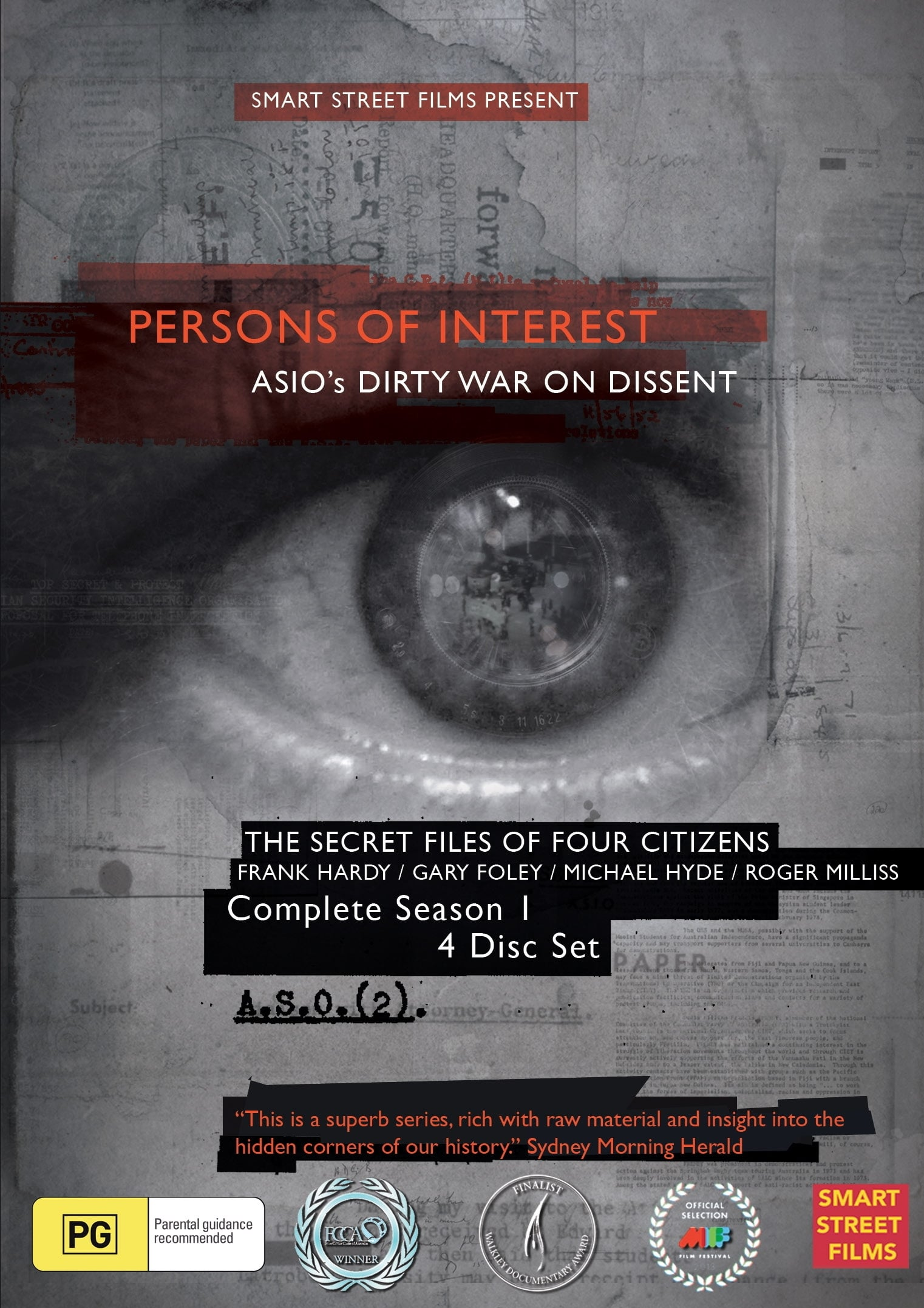 Persons of Interest TV Shows About Spy