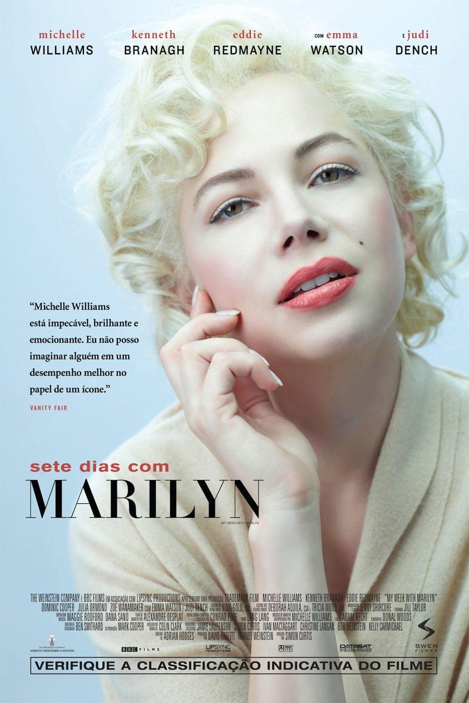 capa Sete Dias com Marilyn