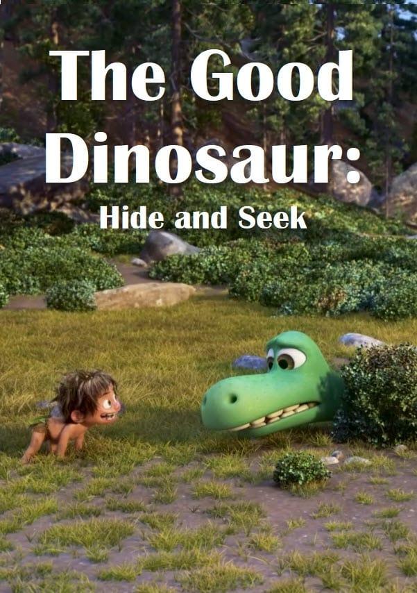 The Good Dinosaur: Hide and Seek