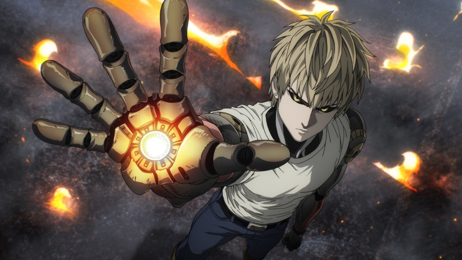 One-Punch Man Season 1 :Episode 2  The Lone Cyborg