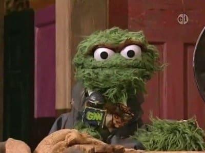 Sesame Street Season 38 :Episode 26  Oscar hosts Grouch News Network