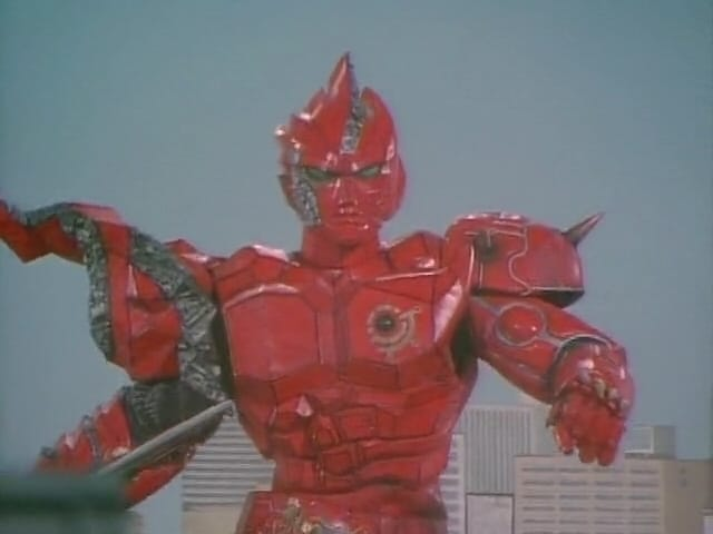 Super Sentai Season 21 :Episode 50  Grandiose! The Scorching Hot Super Warrior Yugande