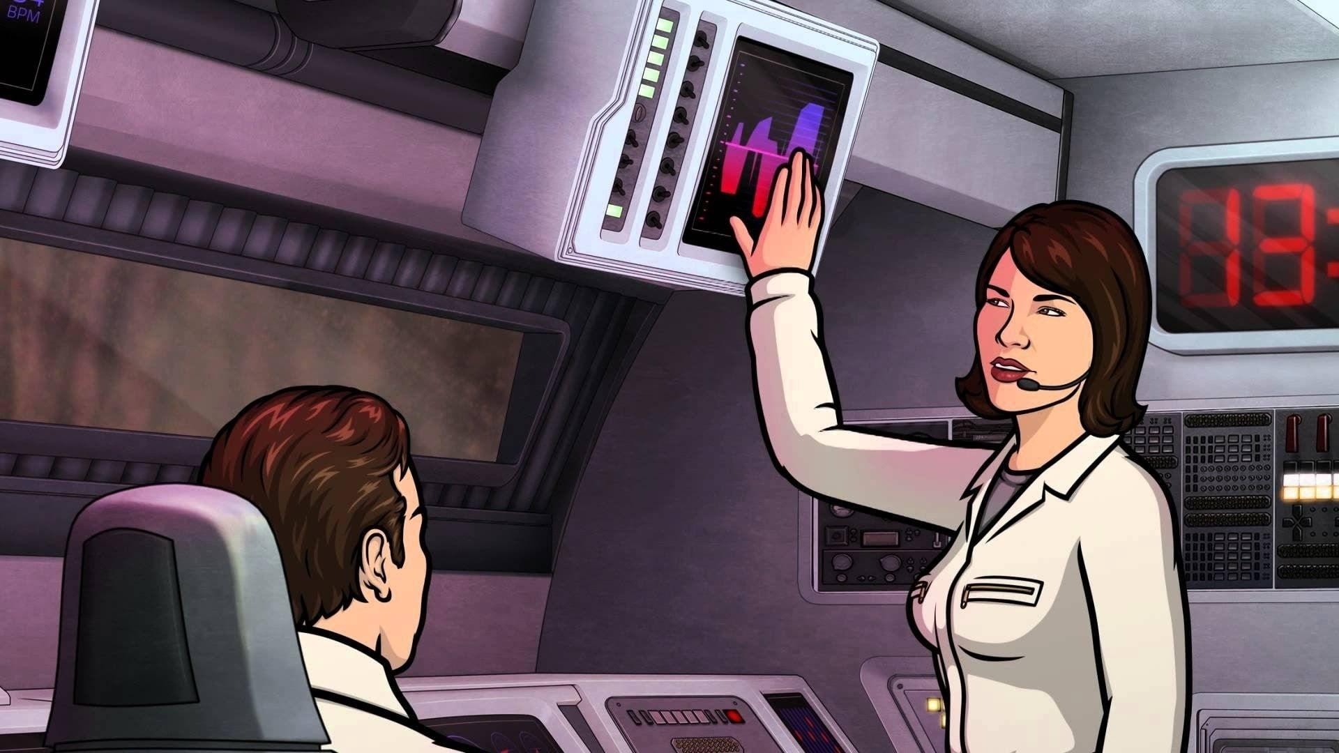 Archer Season 6 :Episode 13  Drastic Voyage: Part II