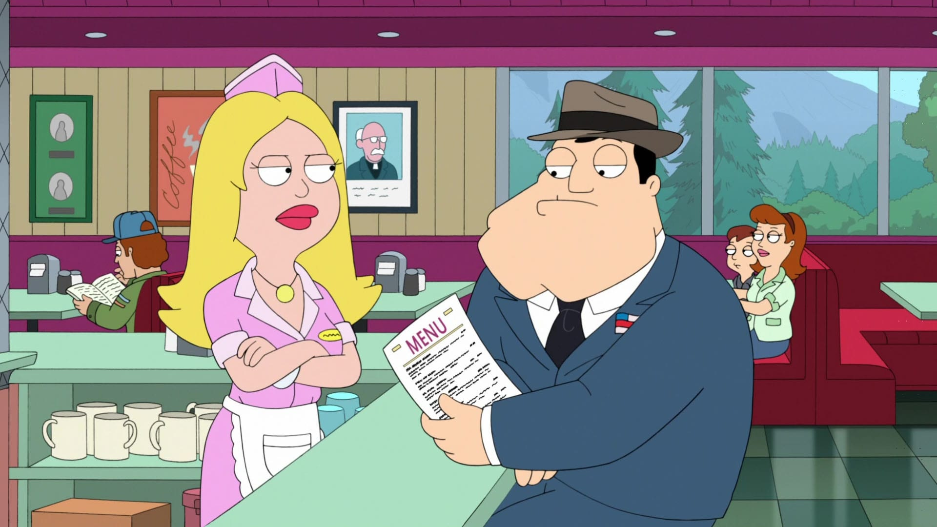 American Dad! Season 13 :Episode 13  Widow's Pique