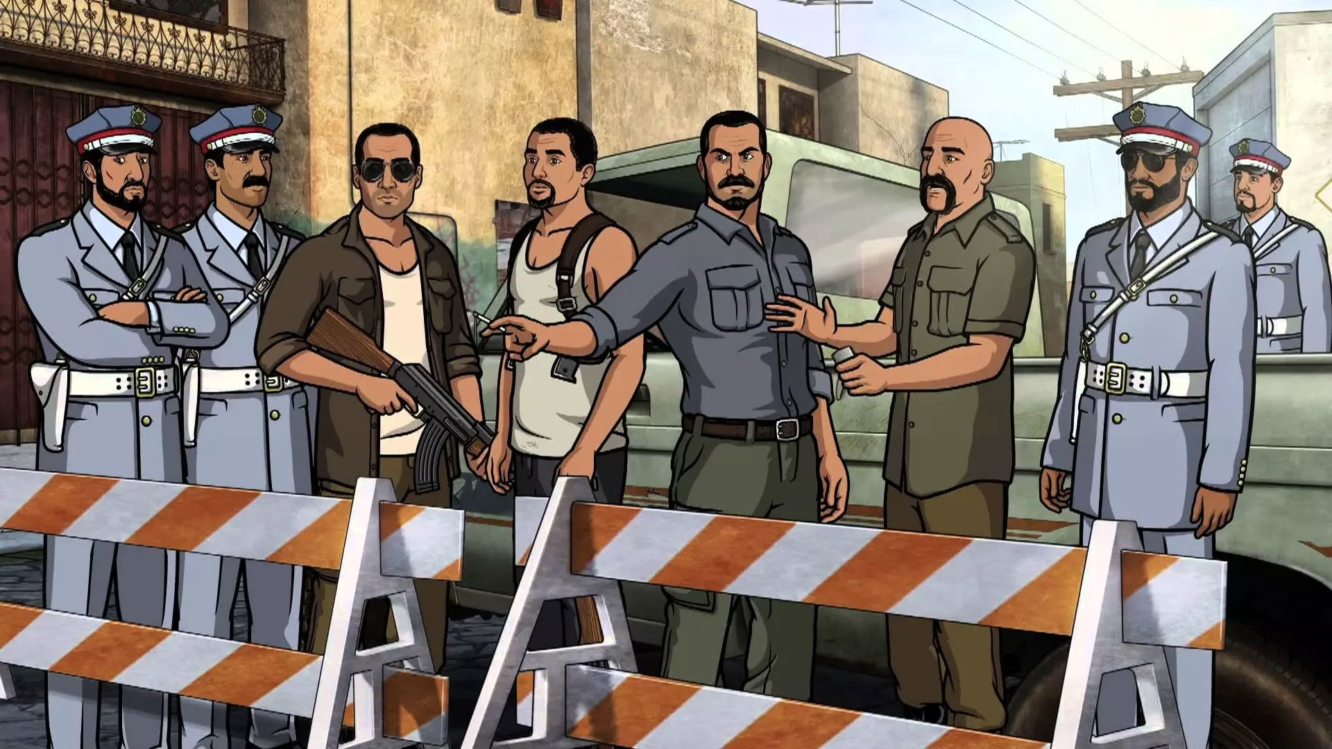 Archer Season 4 :Episode 10  Un Chien Tangerine