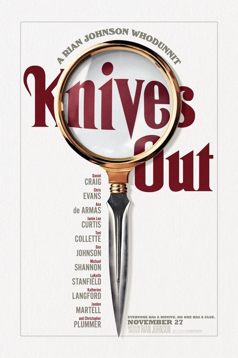 Poster and image movie Film Knives Out 2019