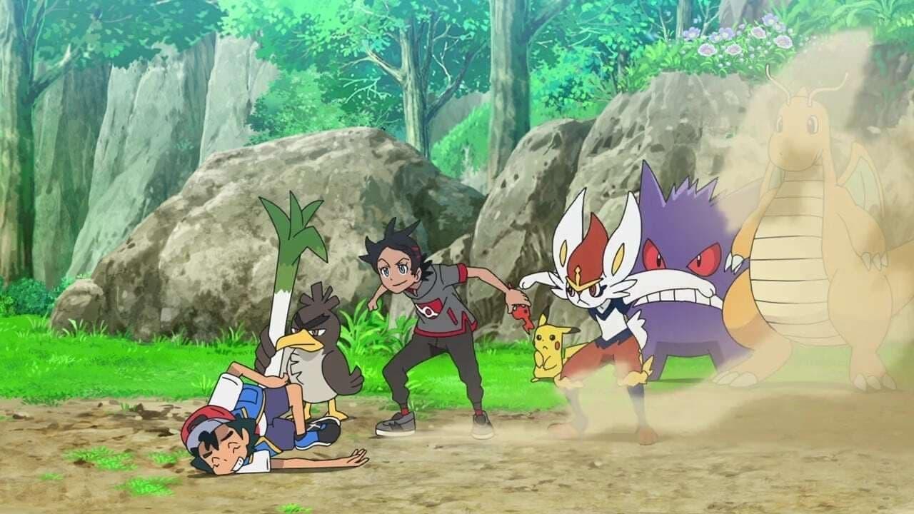 Pokémon Season 24 :Episode 3  Trials of a Budding Master