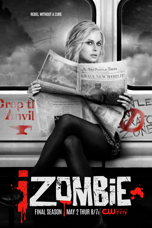 iZombie 5ª Temporada poster, capa, cartaz