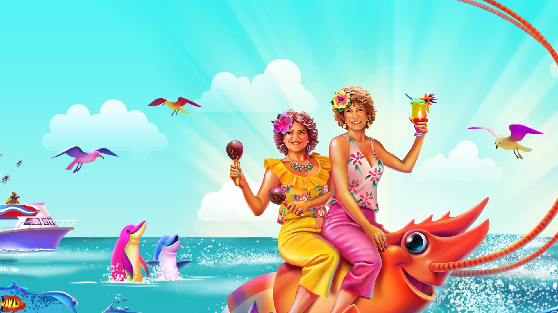Barb & Star Go to Vista Del Mar (2021) Watch Online