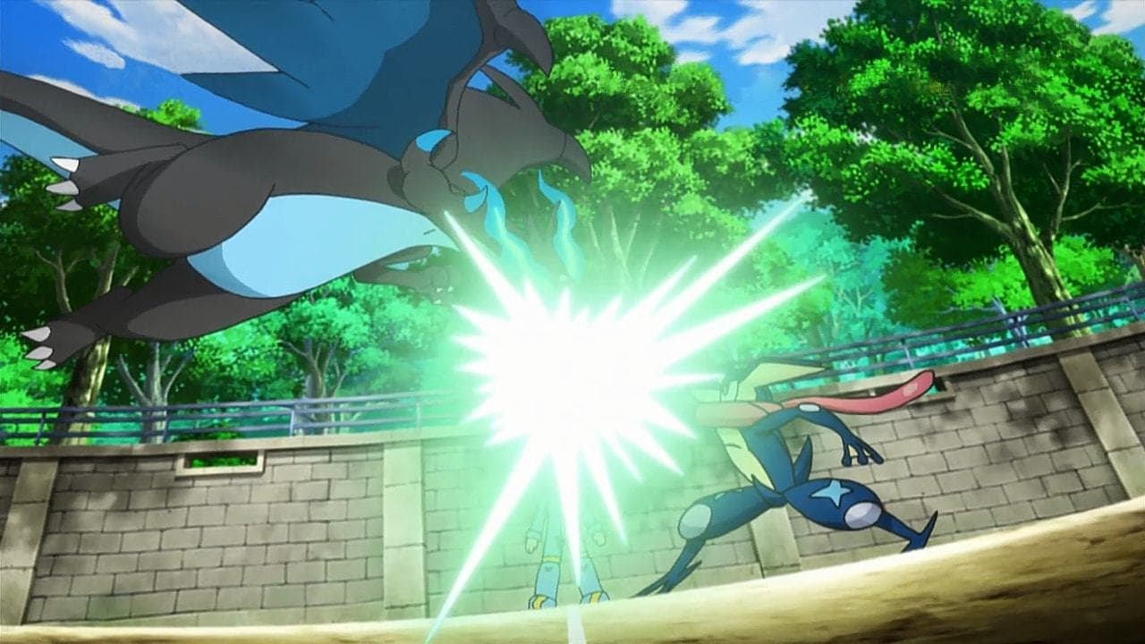 Pokémon Season 19 :Episode 13  A Meeting of Two Journeys!