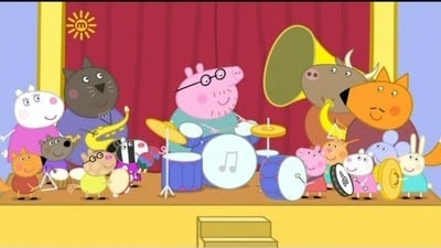 Peppa Pig Season 3 :Episode 40  Shake, Rattle and Bang