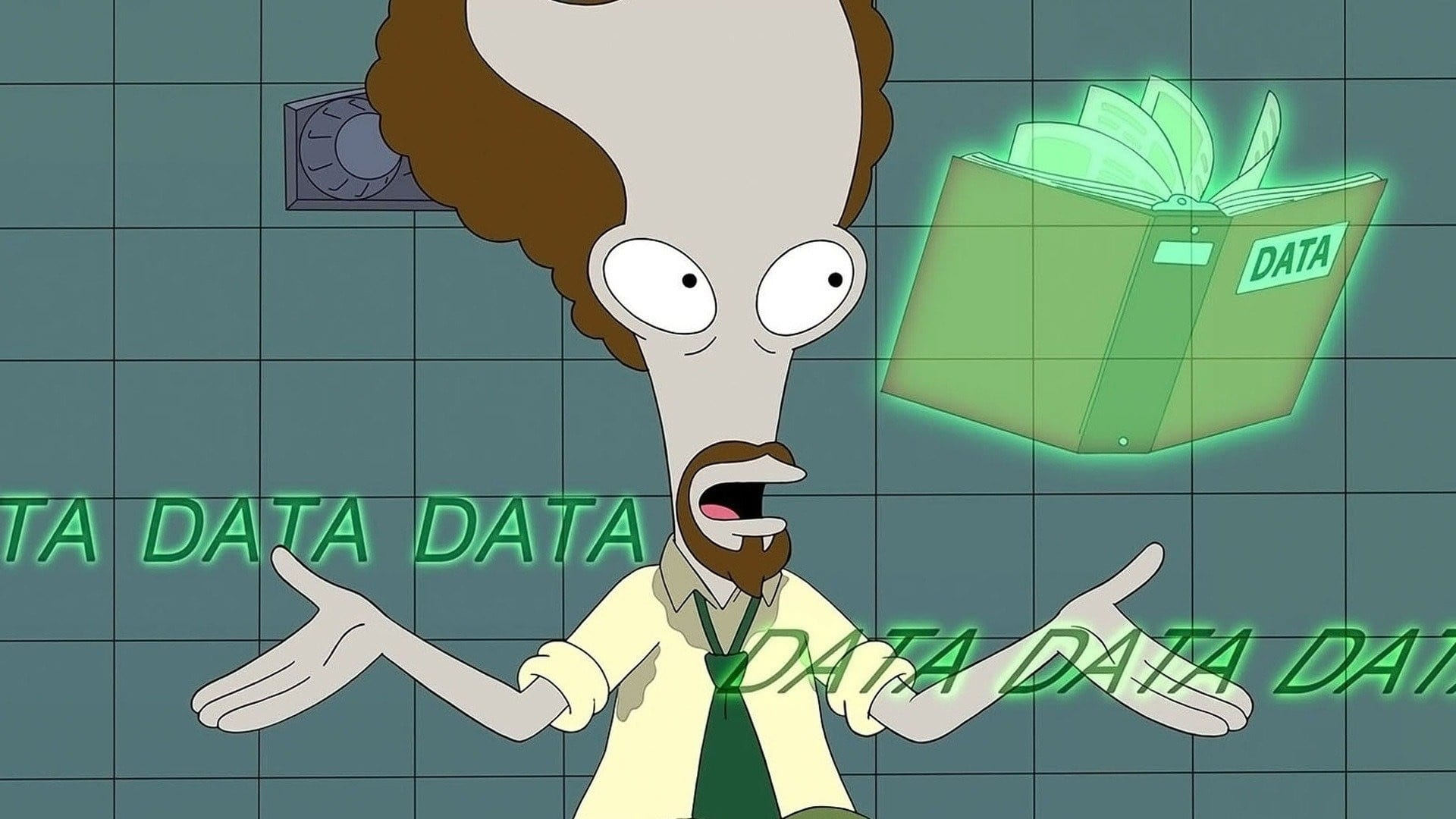 American Dad! Season 17 :Episode 12  American Data?