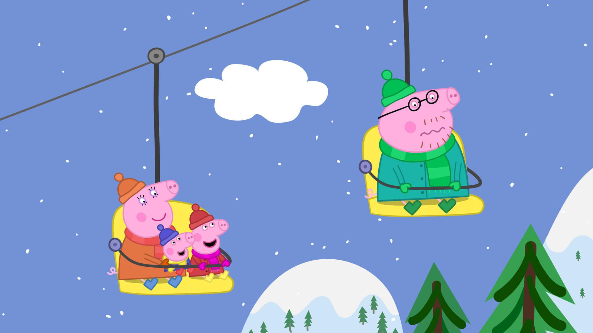 Peppa Pig Season 4 :Episode 49  Snowy Mountain