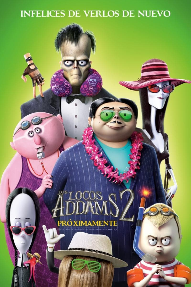 Poster and image movie The Addams Family 2