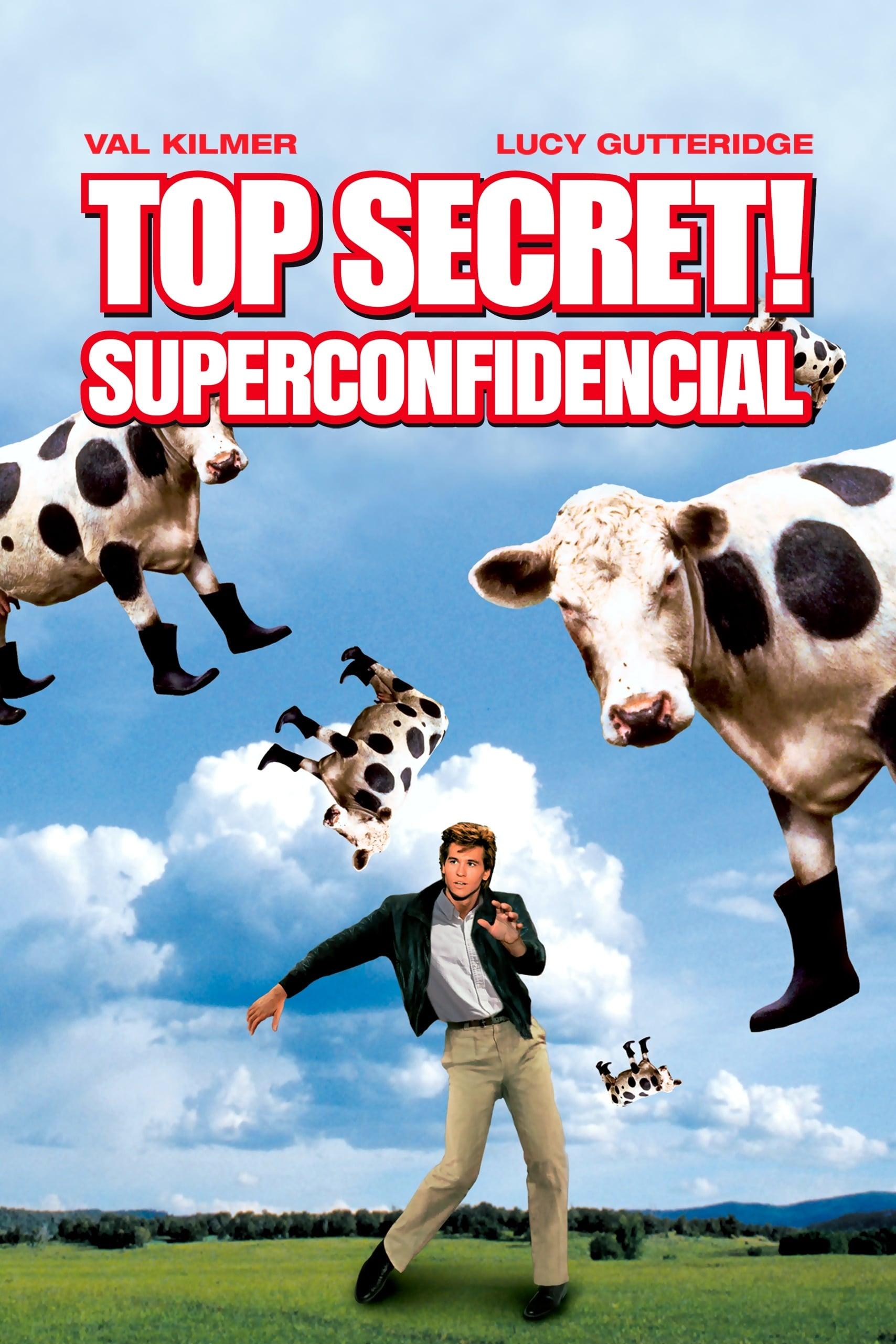 Top Secret! Superconfidencial Dublado