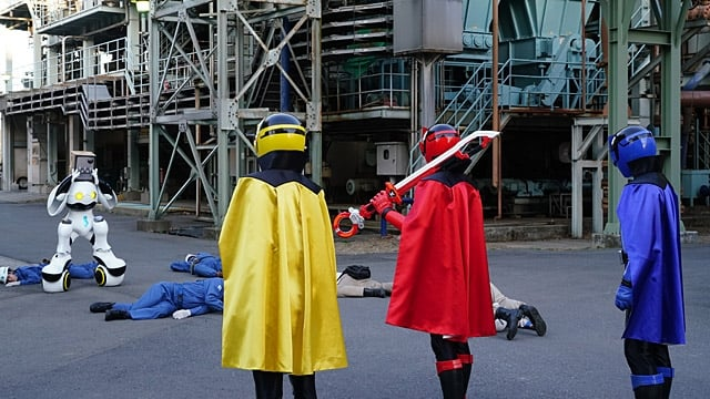 Super Sentai Season 42 :Episode 8  The Thieves' True Identities