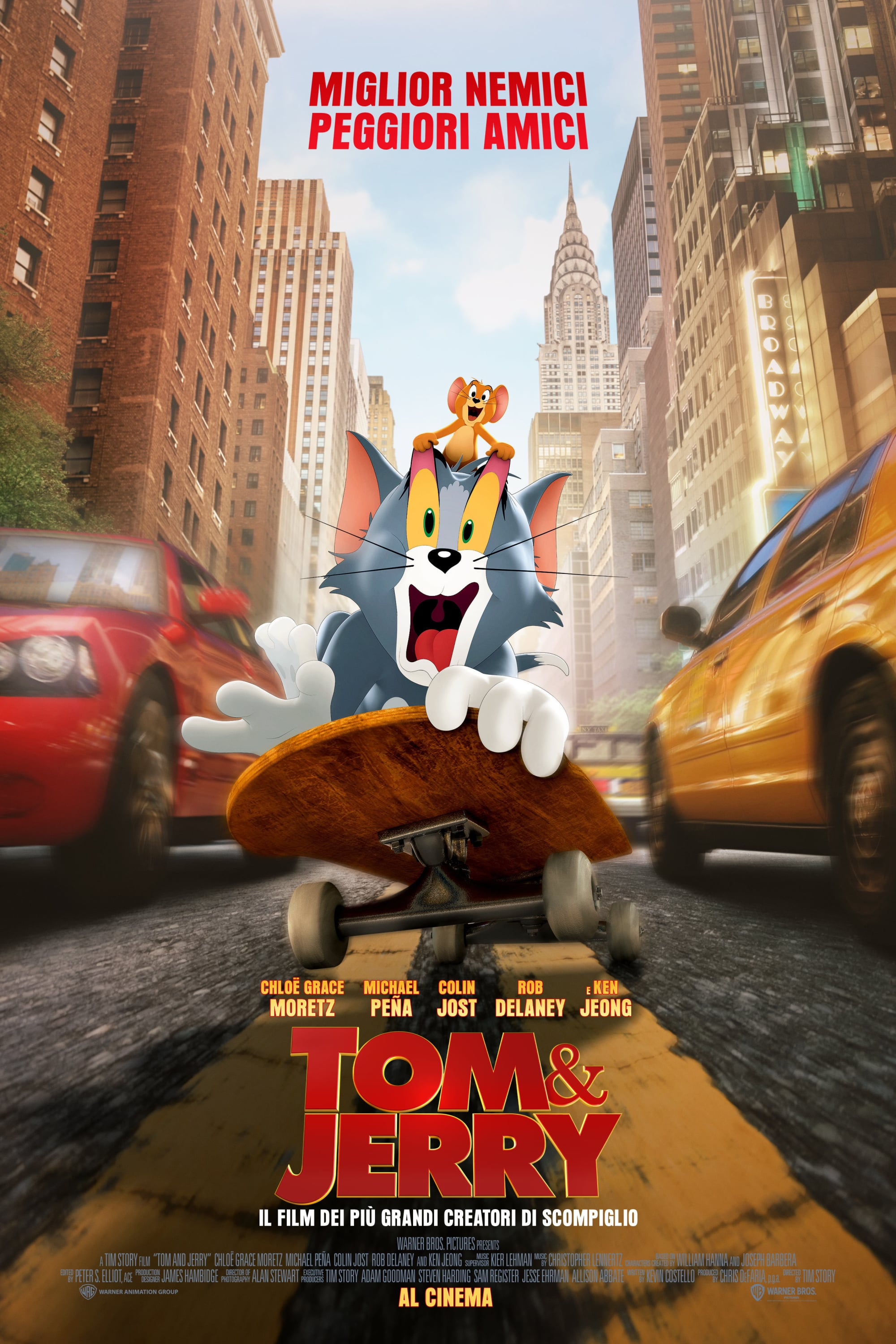 Poster and image movie Tom & Jerry
