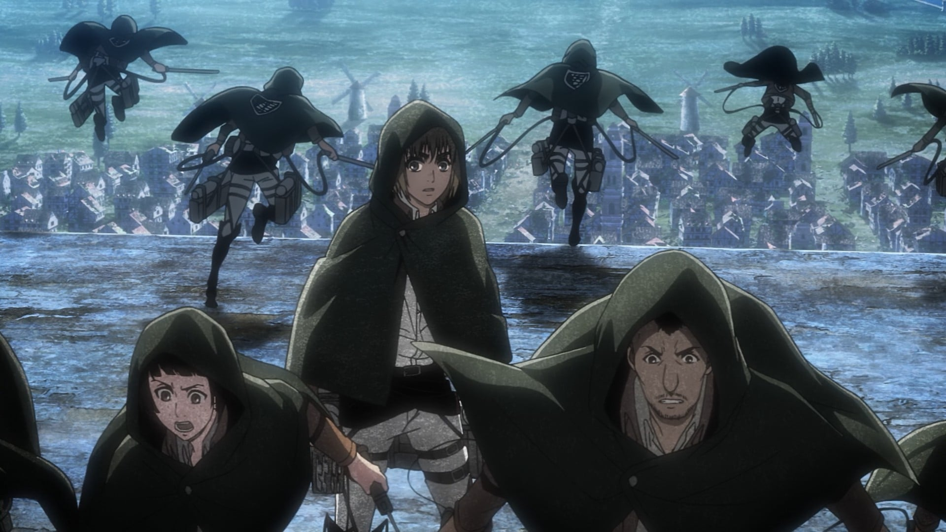 Attack on Titan Season 3 :Episode 13  The Town Where It All Began