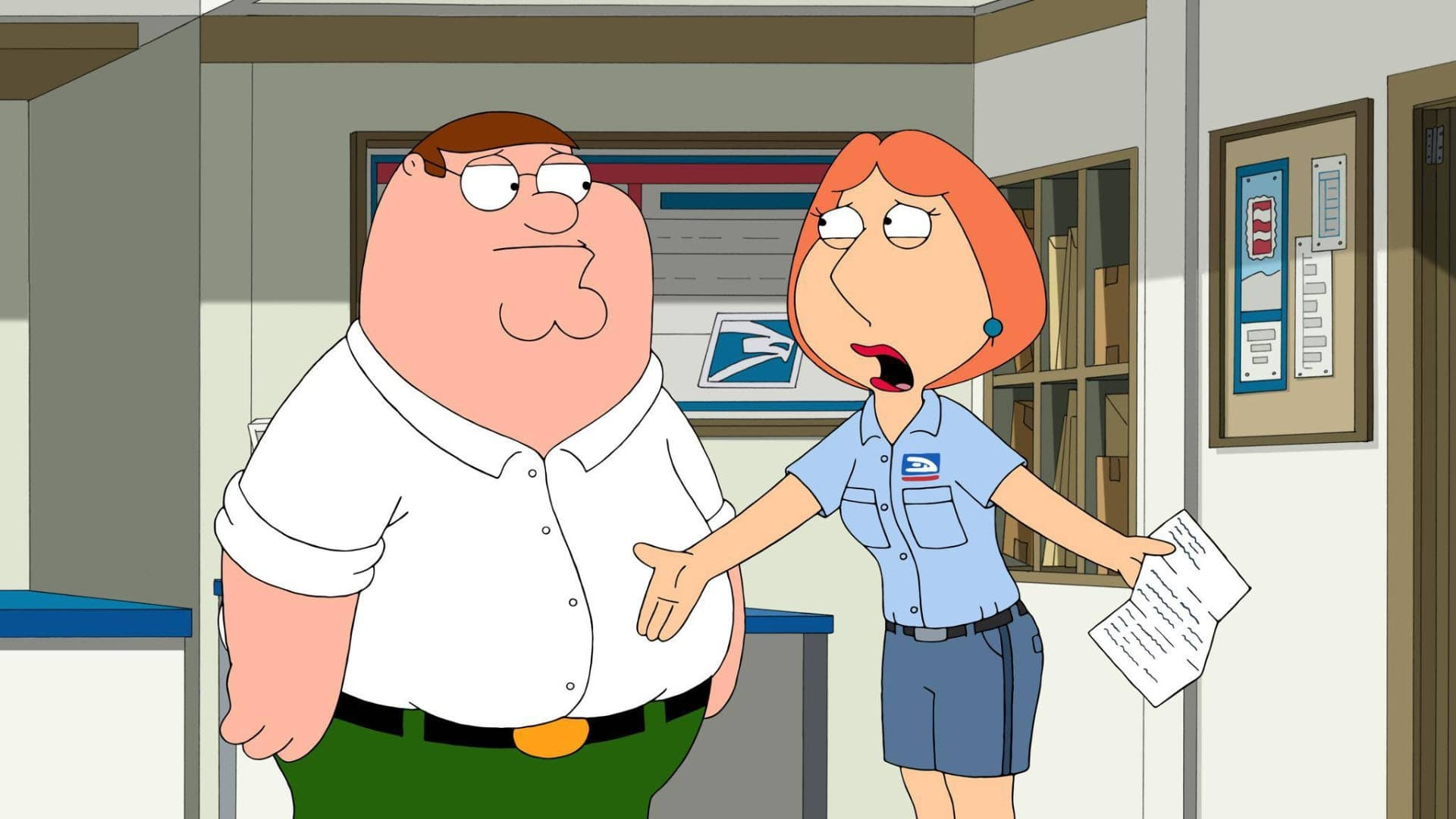 Family Guy Season 14 :Episode 17  Stille Post