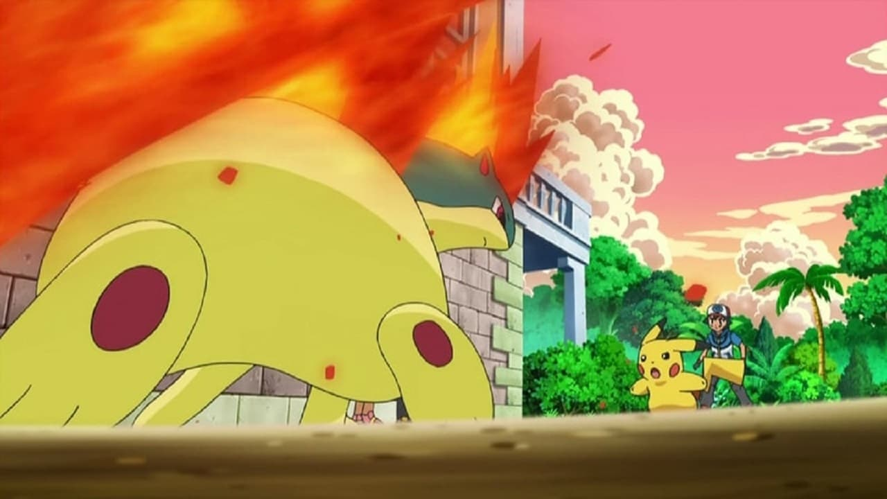 Pokémon Season 15 :Episode 45  Goodbye, Junior Cup - Hello Adventure!